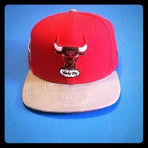Windy city Chicago Bulls hat.